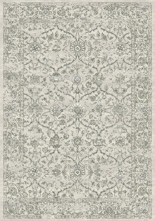 Dynamic ANCIENT GARDEN 57136 SILVER/GREY Rug