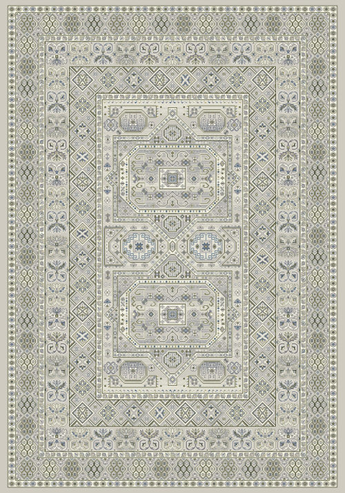 Dynamic ANCIENT GARDEN 57147 SILVER/GREY Rug