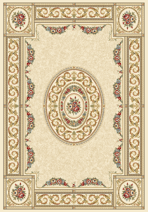 Dynamic ANCIENT GARDEN 57226 IVORY Rug