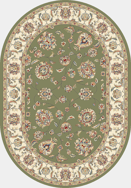 dynamic ancient garden 57365 green/ivory