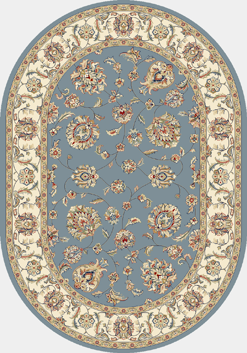 dynamic ancient garden 57365 lt.blue/ivory