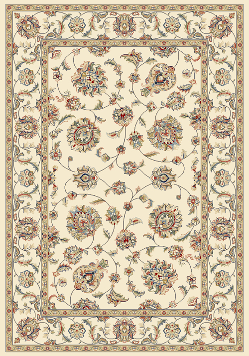 Dynamic ANCIENT GARDEN 57365 IVORY Rug