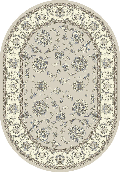 dynamic ancient garden 57365 soft grey/cream