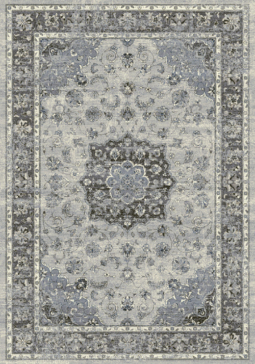 Dynamic ANCIENT GARDEN 57559 SILVER/GREY Rug