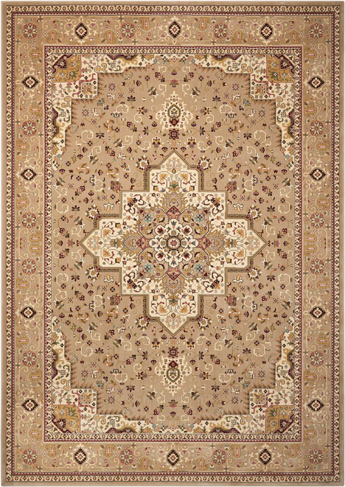 Kathy Ireland KI11 ANTIQUITIES ANT09 BEIGE Rug