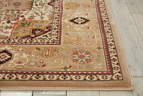 Kathy Ireland KI11 ANTIQUITIES ANT09 BEIGE Detail
