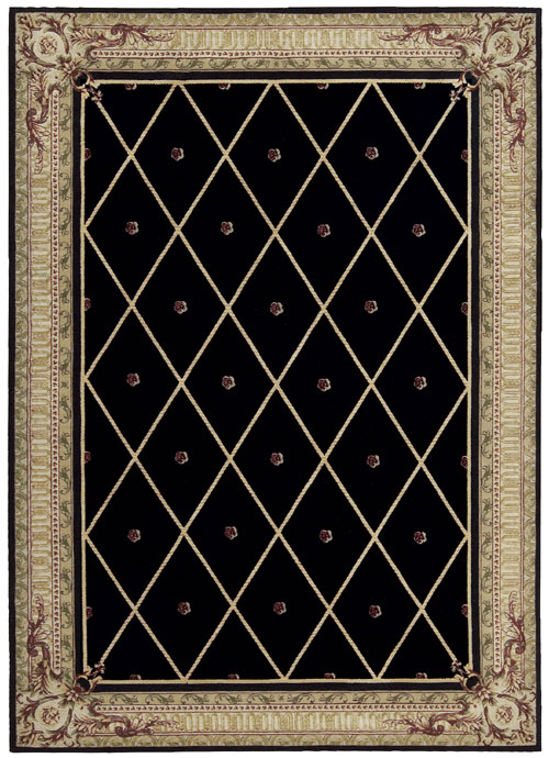 Nourison ASHTON HOUSE AS03 BLACK Rug