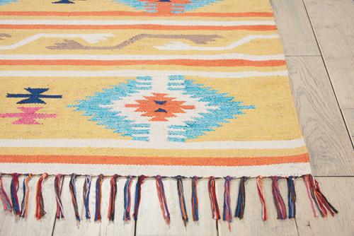 Nourison BAJA BAJ03 YELLOW Detail