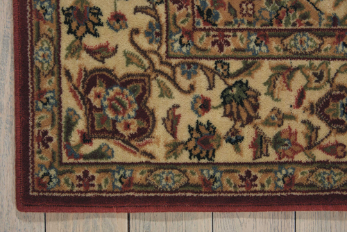 Nourison PERSIAN ARTS BD02 BRICK Detail