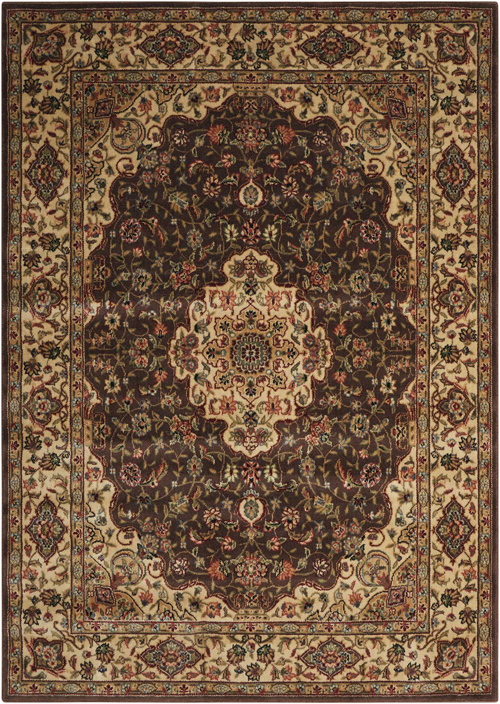 nourison persian arts bd02 chocolate