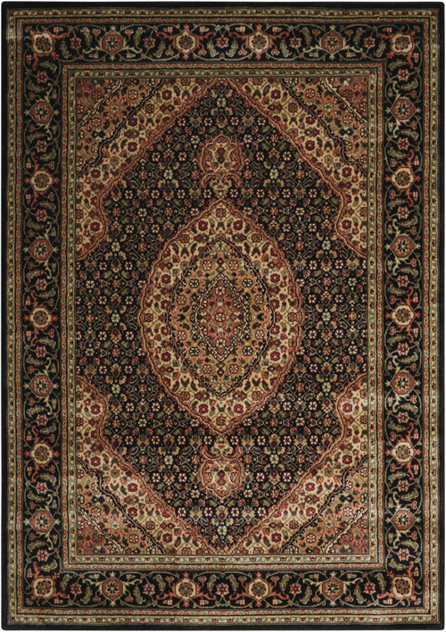 Nourison PERSIAN ARTS BD03 BLACK