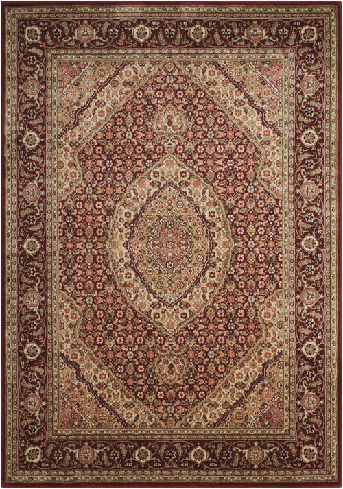 nourison persian arts bd03 brick