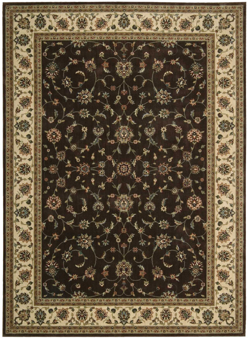 Nourison PERSIAN ARTS BD04 CHOCOLATE Rug