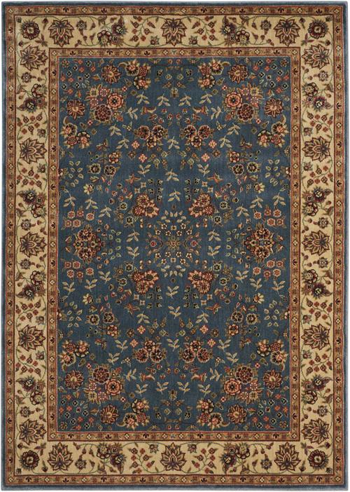 nourison persian arts bd05 light blue