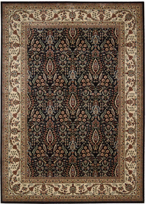 Nourison PERSIAN ARTS BD08 BLACK Rug
