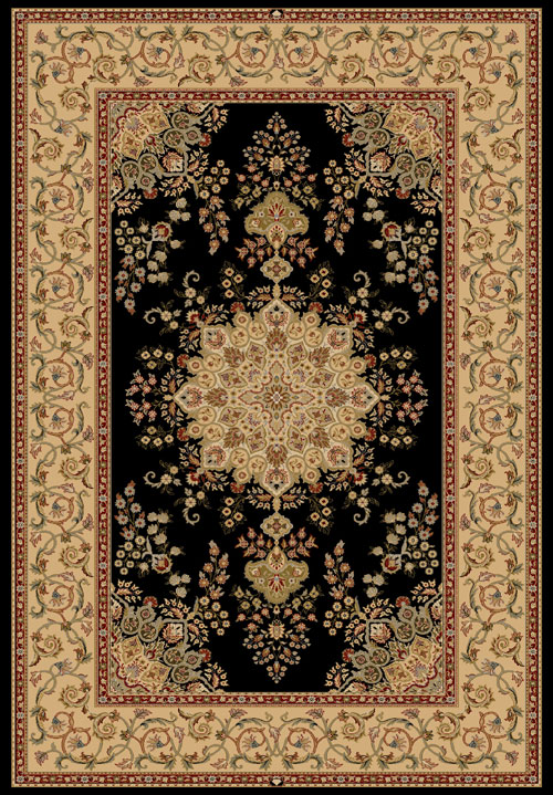Dynamic BRILLIANT 7201 BLACK Rug