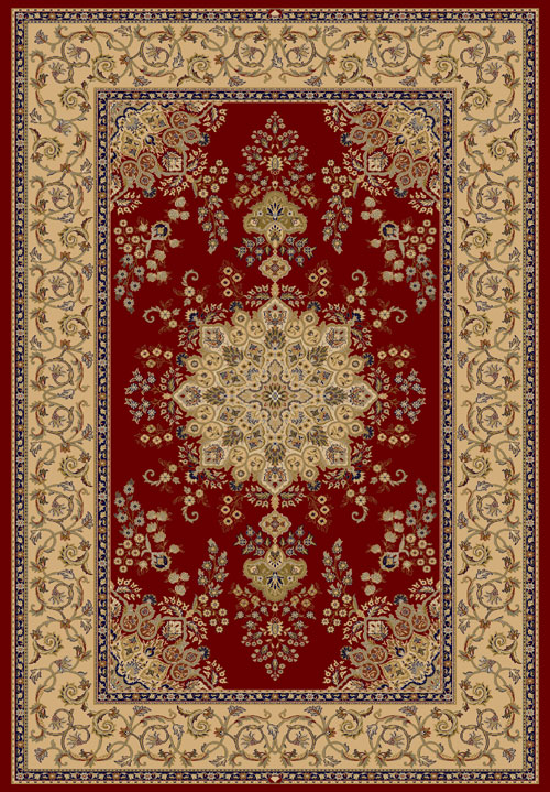 Dynamic BRILLIANT 7201 RED Rug