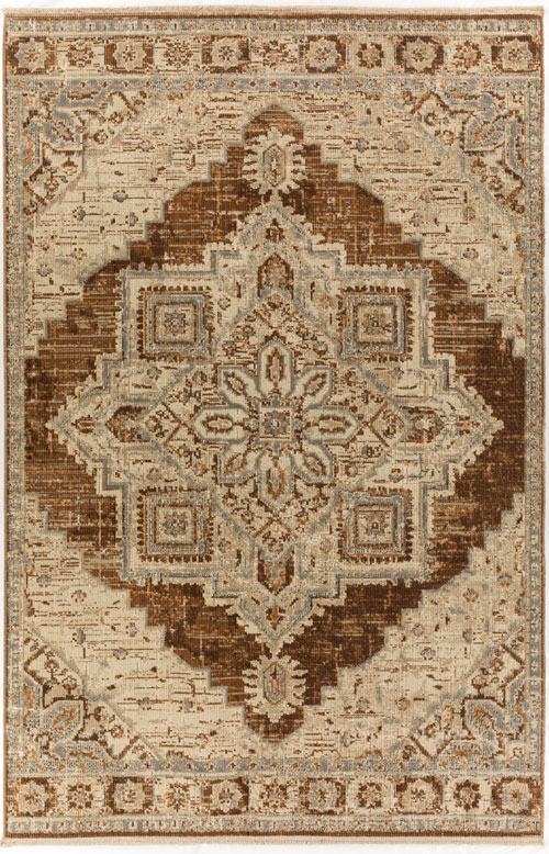 Dalyn Baku BU1 Walnut Rug