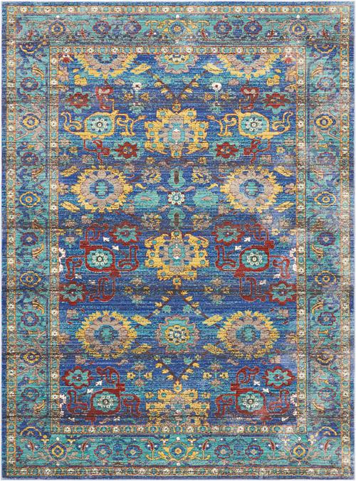 Nourison DELMAR DLM04 BLUE
