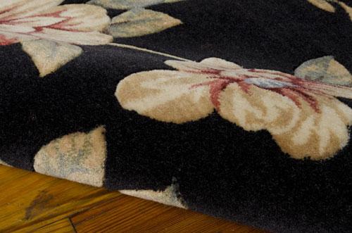 Nourison CAMBRIDGE CG08 BLACK Detail
