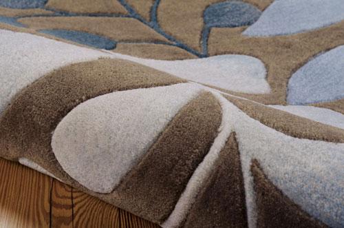 Nourison CONTOUR CON02 MOCHA Detail