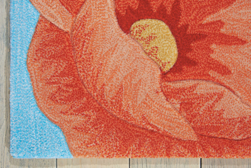 Nourison CONTOUR CON79 BLUE Detail