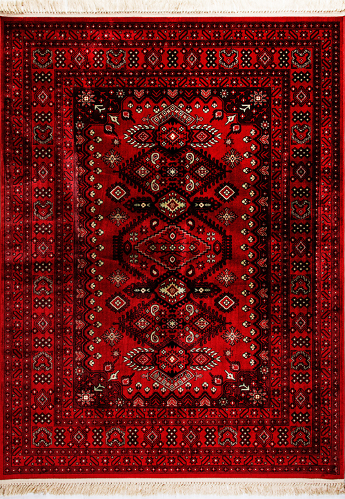 Dynamic CROWN 16223 RED Rug