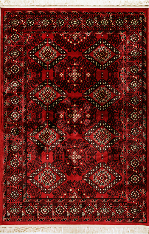 Dynamic CROWN 16225 RED Rug