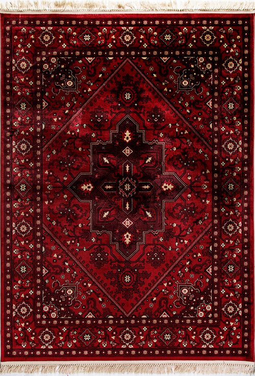 Dynamic CROWN 16226 RED Rug