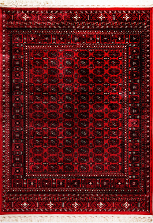 Dynamic CROWN 16227 RED Rug