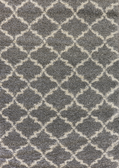 Dynamic CRYSTAL 8520 Grey/Cream Rug