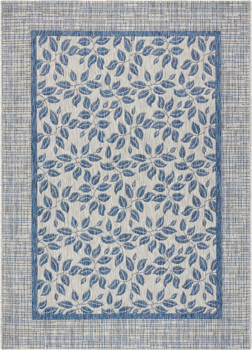 nourison country side ctr01 ivory blue