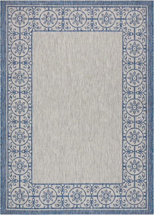 nourison country side ctr03 ivory blue