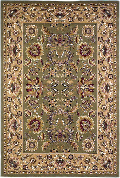 Kas Cambridge 7304 Green/Taupe  Rug