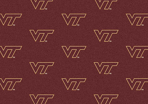 Milliken My Team 01460 Home Field Rug Virginia Tech