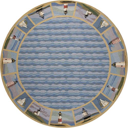 Kas Colonial 1802 Blue  Detail