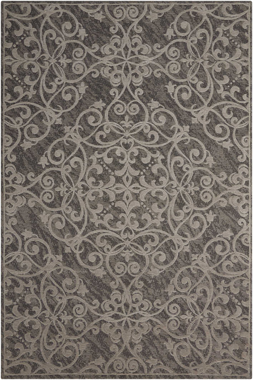 Nourison DAMASK DAS01 GREY