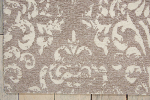Nourison DAMASK DAS03 IV/GREY Detail