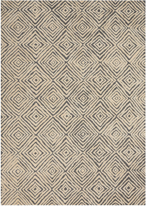 Nourison DECO MOD DEC01 GREY/IVORY
