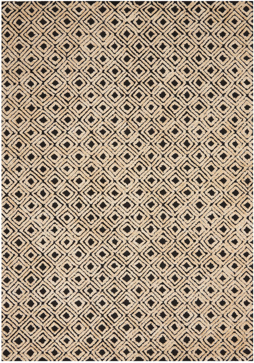 Nourison DECO MOD DEC02 BLACK/BEIGE