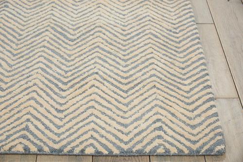 Nourison DECO MOD DEC03 LT.BLUE/IVORY Detail
