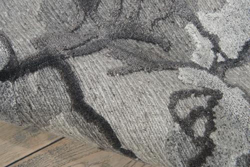 Nourison DIVINE DIV01 CHARCOAL Detail