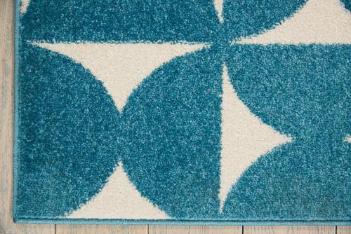 Nourison DWS03 HARPER DS301 BLUE Detail