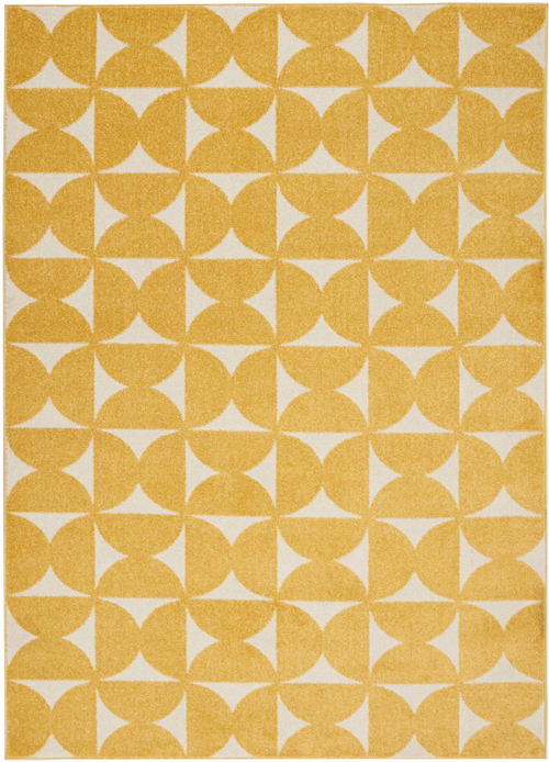 Nourison DWS03 HARPER DS301 YELLOW Rug