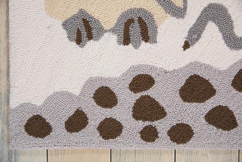 Nourison DWS04 BAILEY DS400 GREY Detail