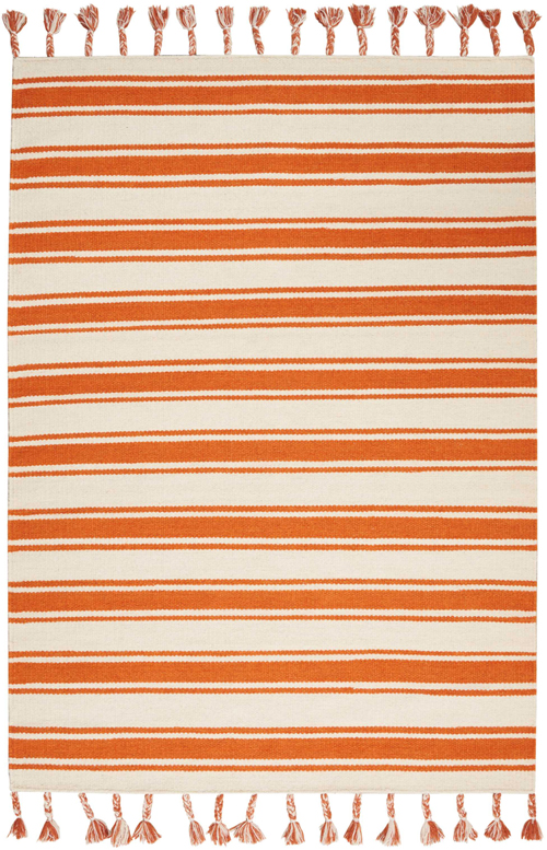 nourison rio vista dst01 ivory/orange