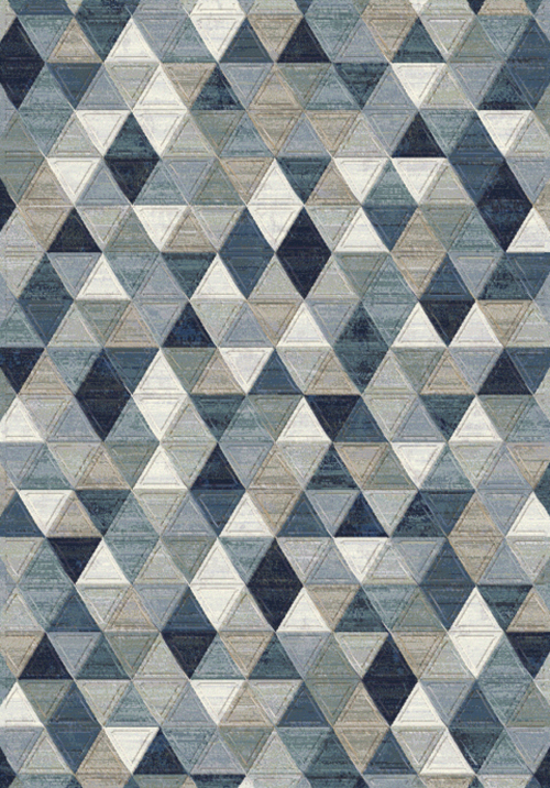 Dynamic ECLIPSE 63263 BLUE/MULTI Rug