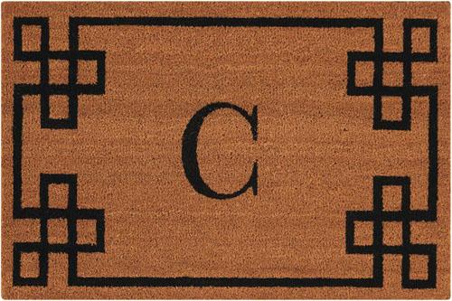 nourison mats elegant entry eecmc natural mat