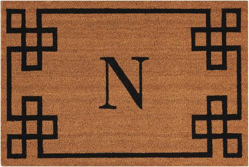 nourison mats elegant entry eecmn natural mat