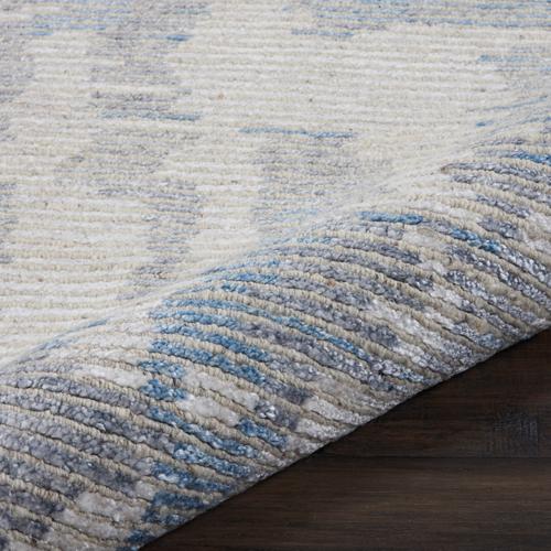 Nourison ELLORA ELL01 BLUE Detail